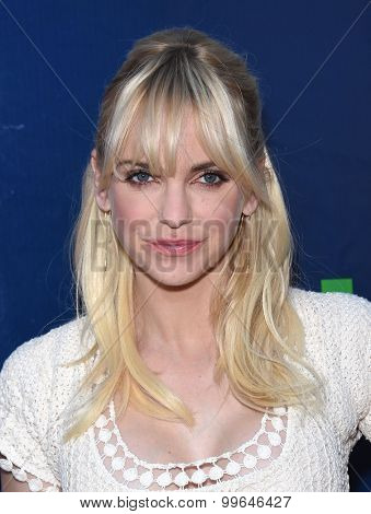 LOS ANGELES - AUG 10:  Anna Faris arrives to the Summer 2015 TCA's - CBS, The CW & Showtime  on August 10, 2015 in West Hollywood, CA