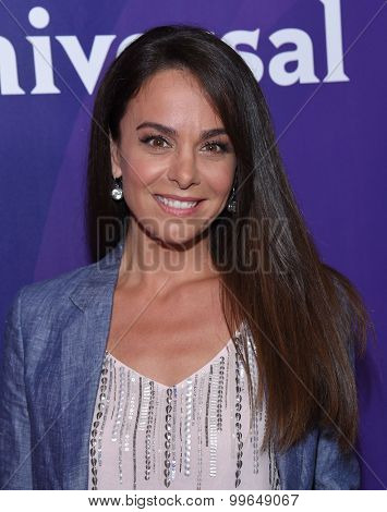LOS ANGELES - AUG 12:  MIchele Lepe arrives to the arrives to the Summer 2015 TCA's - NBCUniversal  on August 12, 2015 in Beverly Hills, CA