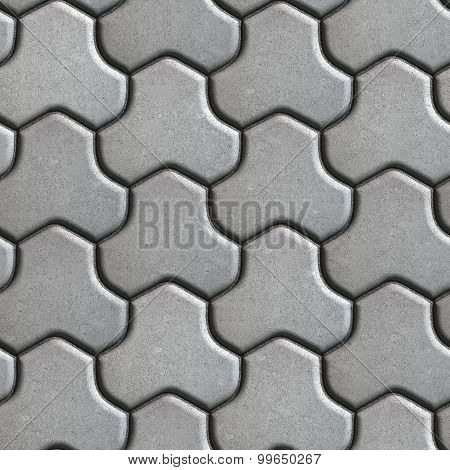 Gray Pavement of Combined Hexagons