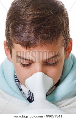 Boy With The Sore Throat Treatment Procedures