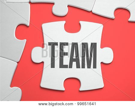 Team - Puzzle on the Place of Missing Pieces.