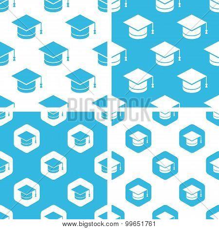 Academic cap patterns set