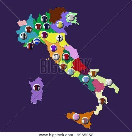 Italian football clubs