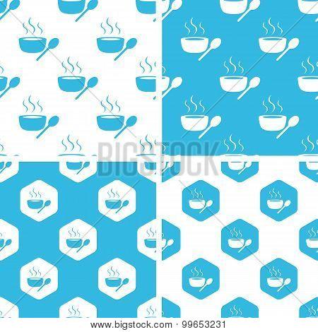 Hot soup patterns set