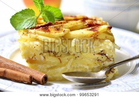 Lapshevnik - Traditional Dish Of Russian Cuisine.