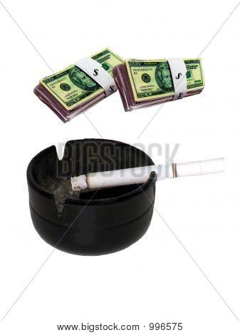 Cash verbrennt