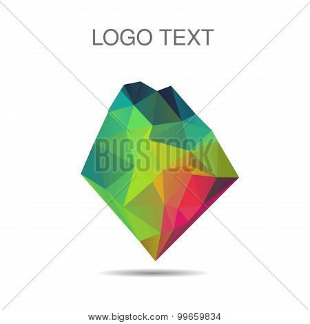 Triangle Logo Or Icon Of Stone