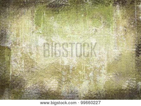 Scratched Vintage Abstract Grunge Theme With Black Scuffed Edges