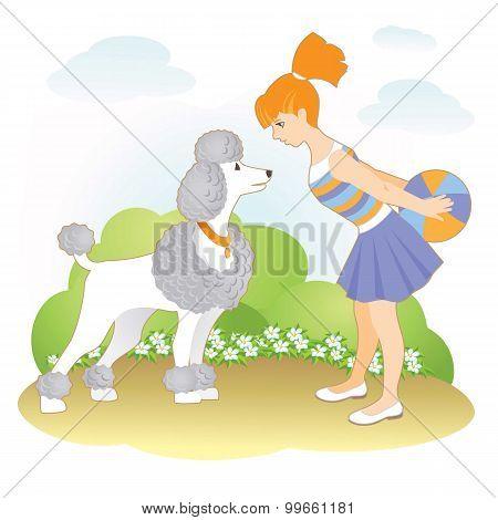 Girl_and dog