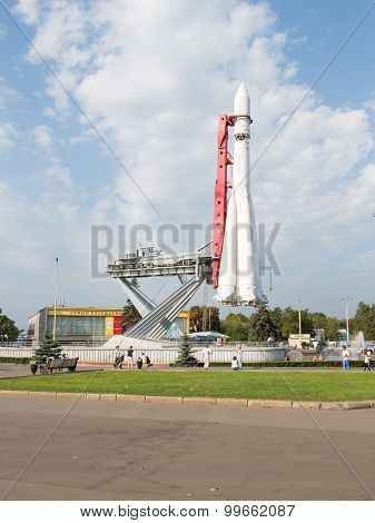 Moscow Exhibition Center Rocket East