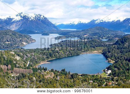 Lake Nahuel Huapi, Argentina (from Cerro Campanario)