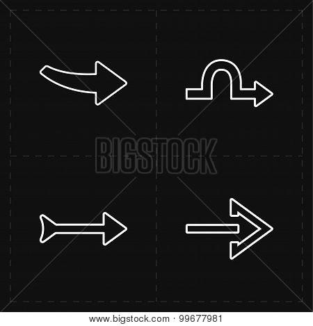 4 new simple arrows
