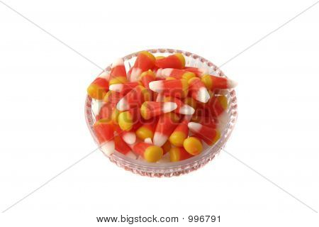 Candy Corn In A Cute Dish
