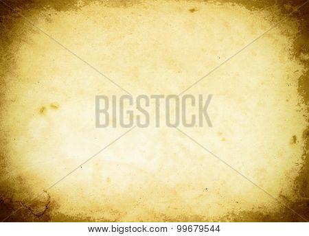 Old Grunge Paper Backdrop.