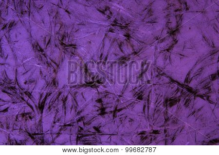 Old Purple Glass Plate.