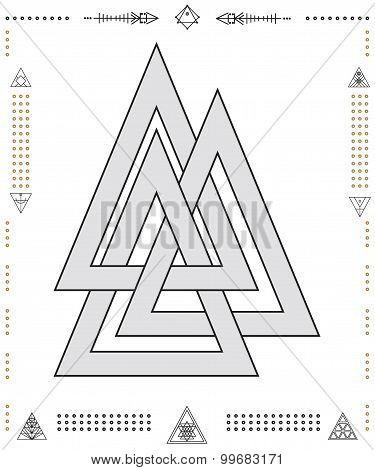 Set Of Geometric Hipster Shapes 9Znkl72211De