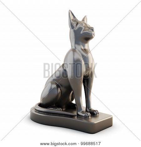 Statuette Of A Cat