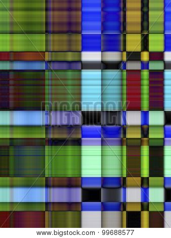 Fantasy Background With Bright Colorful Rectangles