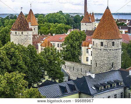 Tallinn Capital Of Estonia Eest