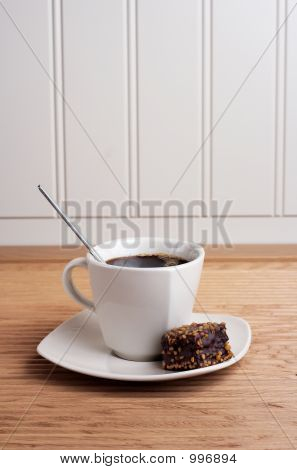 Coffee Cup With Brownie