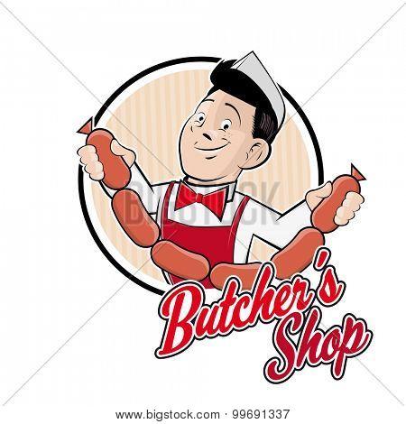 funny butchers shop sign