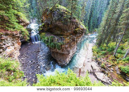 Johnston Canyon in Banff NP, Canada