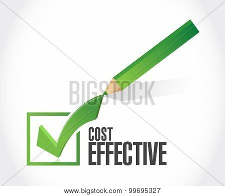 Cost Effective Check Dart Sign Concept