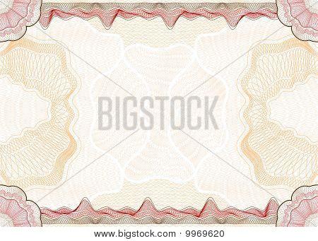 Guilloche Pattern