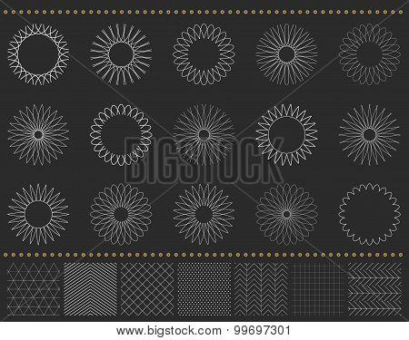 Set Of Geometric Hipster Shapes 972211D4Black