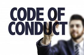 foto of conduction  - Business man pointing the text - JPG