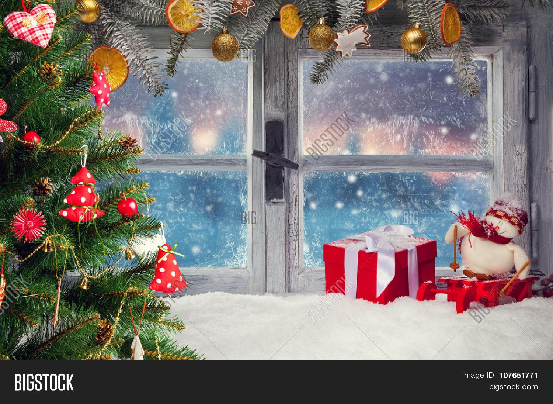 Winter Window Decorations