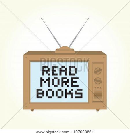 Read more books retro television