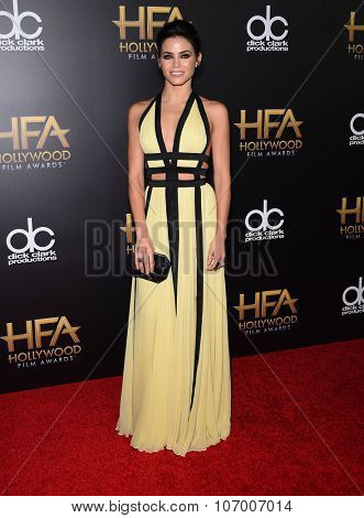 LOS ANGELES - NOV 1:  Jenna Dewan-Tatum arrives to the Hollywood Film Awards 2015 on November 1, 2015 in Hollywood, CA.