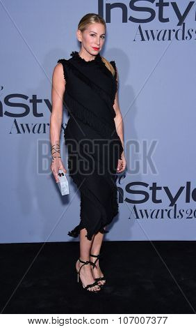 LOS ANGELES - OCT 26:  Jennifer Fisher arrives to the InStyle Awards 2015  on October 26, 2015 in Hollywood, CA.