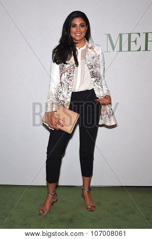 LOS ANGELES - OCT 13:  Rachel Roy arrives to the La Mer