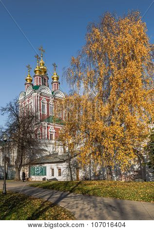 Transfiguration Church of Novodevichy convent.