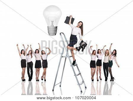 All Female business team