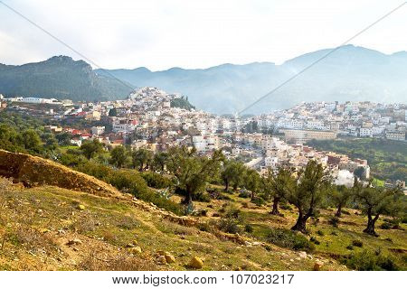Old City In Morocco Africa Land   Landscape Valley