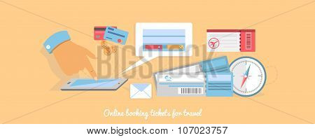 Online Booking a Ticket on Trip