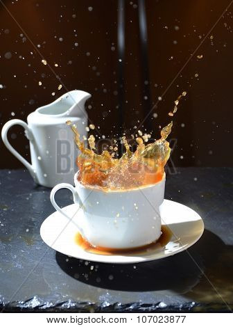 Splash Of Hot Coffee