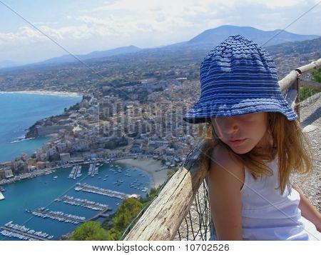 Seaside tourist