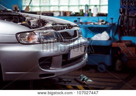 Car In Need Of Repair