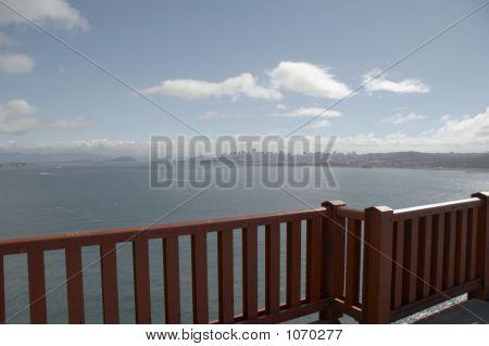 Balustrade Of Golden Gate Bridge