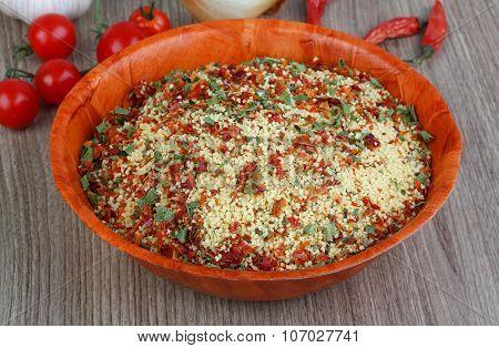 Raw Couscous
