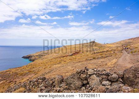Famous Hike Trail Named Cais Do Sardinha