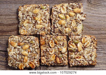 Cookies With Nuts And Seeds
