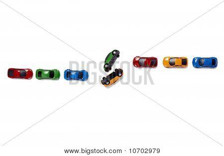 Spielzeug-Autos autoverkehr