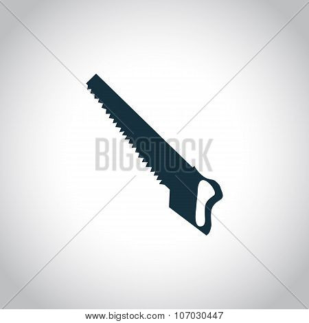 Hacksaw black icon