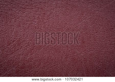 Vinous Leather Surface