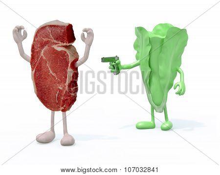 Vegetable Vs Meat